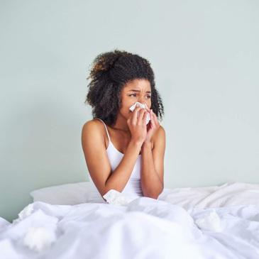 Prolongación del periodo de alergias